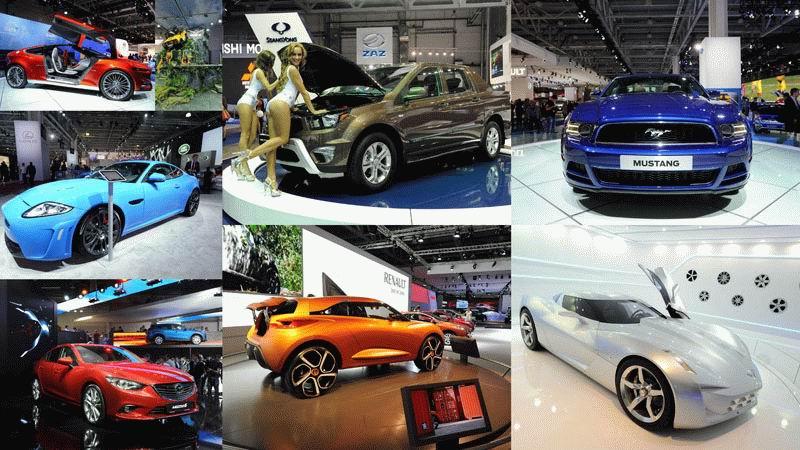 Московский международный автосалон 2012